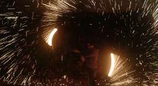burning steel wool by Main tzafrir channel